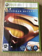 SUPERMAN RETURNS XBOX 360 FRANÇAIS COMPLET RARE