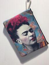 Frida Kahlo Print Ipad Case, Cosmetics Bag
