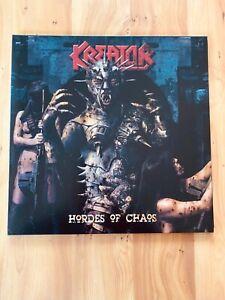 Kreator Hordes of Chaos LP Gatefold Slayer Sodom  Iron Maiden