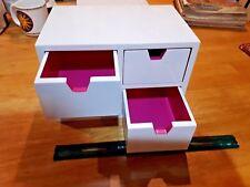 4 drawer jewelry storage box wood isaac mizrahi