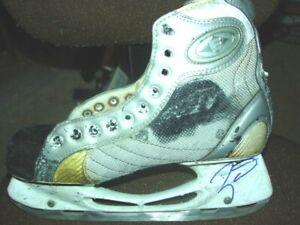 Taylor Hall Edmonton Oilers Autographed Ice Hockey Skate   COA