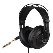 More details for samson sr850 studio reference monitor headphones semi-open headset for recording