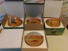 Set 4 x Kung Fu Panda 3 Movie Promotional Noodle/Cereal Ceramic Bowls - 4 x LI