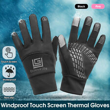Winter Sport Neoprene Soft Thermal Gloves Touch Screen  Sports Cycling UK
