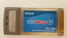 D-Link AirPlus Wireless G Network Notebook Card DWL-G630