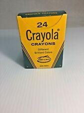 Vintage * Crayola * 24 Color Crayons Good Condition by Binney & Smith