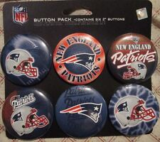 NFL New England Patriots Button Pack WinCraft