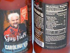 New Guy Fieri Bourbon Carolina 6 Mop & slop BBQ Sauce x2 Lot Large Size