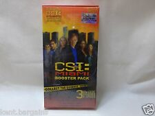 Csi Miami Booster Pack To Go With Game New And Sealed