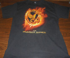 Hunger Games shirt size Medium M Catching Fire Mocking Jay Katniss District 12