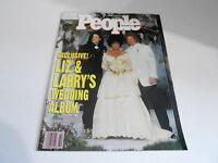 OCT 21 1991 PEOPLE magazine (NO LABEL) UNREAD - LIZ TAYLOR - MICHAEL JACKSON