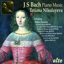 Tatiana Nikolayeva - Bach Piano Muisc CD Alto NEU