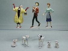101 Dalmatiens 8 Figurine série complète PVC KID'M Figure Disney Dalmatians