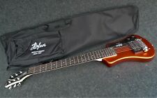 HOFNER HCT-SH-MO SHORTY TRAVEL Electric Guitar METALIC ORANGE with Gig Bag