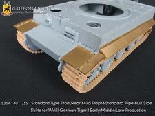 Griffon L35A140 1/35 Standard Fenders & Hull Side Skirts for Tiger I