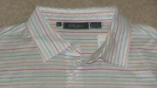$99 Bobby Jones Cotton Golf/ Polo Shirt w/Golfer Placket- M - NewwTags-Free Ship
