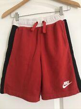 Nike Air Shorts Youth Medium Child Red Black White Jordan Cotton