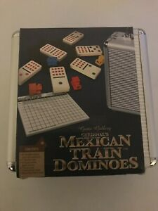 Mexican Train Dominos w/Travel Case