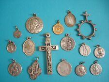 Lot de Médailles Religieuses anciennes - Antique Religious Medals