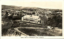 Shanklin, Isle of Wight. Aerial View of Winchester House by Photochrom.