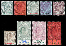 Mint Hinged Multiple British Colony & Territory Stamps