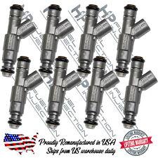 Lifetime Warranty Bosch Upgrade 4 Hole 27LB/HR 4.7L 5.2L 5.9L Fuel Injector Set