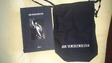 Ann Demulemeester Patti Smith Rizzoli Signed Book HC 1/1 RARE SLIPCASED Fashion