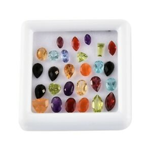 MIX Size Faceted Natural Rare Loose Gemstone for Jewelry Making Ct 8.37