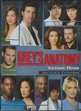 Greys Anatomy - The Complete Third Season (DVD, 2007, 7-Disc Set, Seriously...