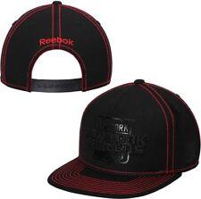 "NEW YORK RANGERS Reebok Cross Check BLACK Snapback Hat ""NEW"""