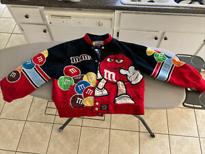 JH Design M&M's XL YOUTH Jacket.  Not adult size.