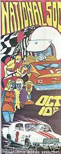 Auto Racing Brochure - National 500 - 10/10/71 - Allison Yarborough NASCAR (R07)