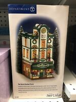 "Snow Village Dept 56 ""THE SECRET GARDEN FLORIST"" 54885 NeW! MINT! FabULoUs!"