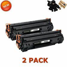 2PK 83A CF283A Bk Toner Cartridge for HP LaserJet Pro M127fn M127fw M125nw MFP