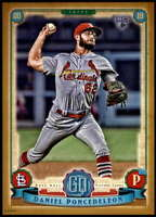 Daniel Poncedeleon 2019 Topps Gypsy Queen 5x7 Gold #144 RC /10 Cardinals