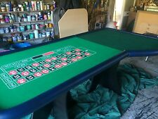 Roulette & Blackjack Tables now £650