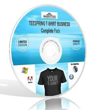 Teespring T-Shirt Business Complete Pack - Video, Guides, & More! DVD