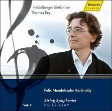Mendelssohn: String Symponies Nos. 1-4 & 9, New Music