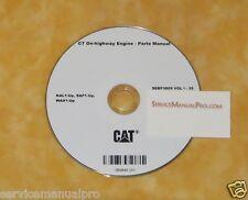 Sebp3809 New Cat Caterpillar C7 On-Highway Truck Engine Parts Manual Book Cd.