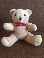"""Vintage TEDDY BEAR, 10,63 """" tall, glass eyes, moving arms and legs"""