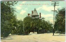 Atlanta GA Junction of the Two Peachtree Streets 1911
