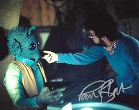 PAUL BLAKE SIGNED 'STAR WARS IV: A NEW HOPE' GREEDO 8X10 PHOTO COA GEORGE LUCAS
