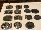 Limited Edition American Fire Fighter belt buckles (Full collection)