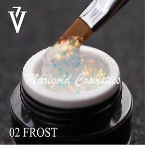 Victoria Vynn BRILLANT Colour UV/LED Gel Polish Pots Nails Art Glitter Hybrid 5g