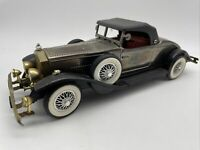 Vintage 1931 Classic Rolls Royce Car AM Radio Decor Collectible