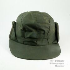 Men's Barbour Waxed Cotton Hunting Cap Size M Made In England Made E Rewax Rare