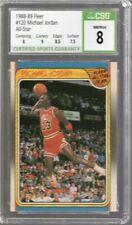 1988/89 Fleer All Star Michael Jordan #120 CSG 8