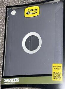 Otterbox Defender iPad $ iPad Air 2 Case Rugged Protection Grey/Gray New