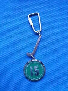 Keychain key holder 15th champions cup FIELD lawn HOCKEY Subotica Yugoslavia