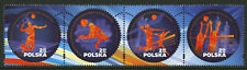 Poland 2017 MNH EuroVolley Volleyball 4v Strip Sports Stamps